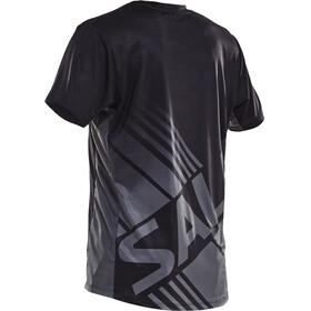 Salming Challenge - T-shirt course à pied Homme - gris/noir